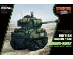 Meng British Medium Tank Sherman Firefly Cute Tank