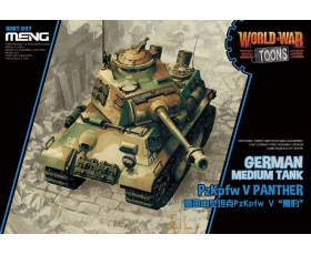 Meng German Medium Tank PzKpfw V Panther World War Toons Cute Tank