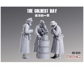 Meng German The Coldest Day Resin 1/35