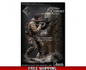 DG Artwork Special operation forces-Black Cohort Raccoon 1/24