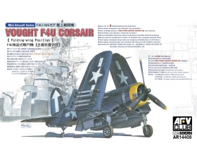 AFV CLUB F4U CORSAIR folding-wing 1/144