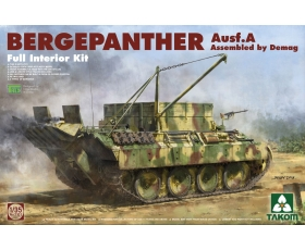 Takom Bergepanther Ausf. A Assembled by Demag Full Interior Kit 1/35