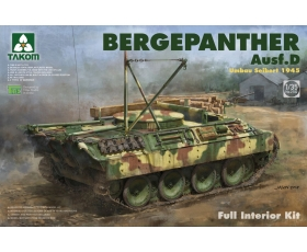 Takom Bergepanther Ausf. D Umbau Seibert 1945 Full Interior Kit 1/35