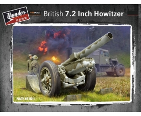Thunder Model British 7.2 inch howitzer 1/35