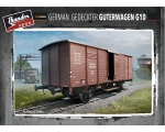 Thunder Model German G10 Guterwagen 1/35 Pre-Order