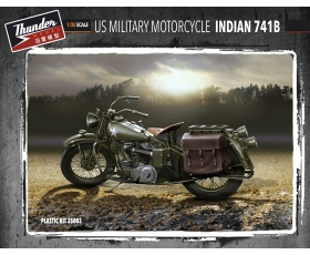 Thunder Model US Military Motorcycle Indian 741B 2 kits 1/35 Pre-Order