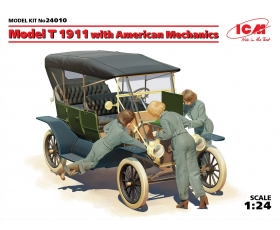 ICM Model T 1911 Touring with American Mechanics 1/24