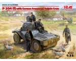 ICM Panzerspahwagen P 204 f, with German Armoure..