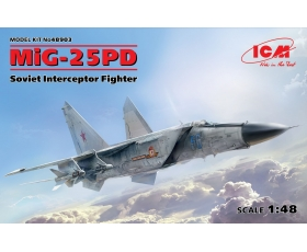 ICM MiG-25 PD, Soviet Interceptor Fighter 1/48