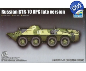 Trumpeter Russian BTR-70 APC late version 1/72