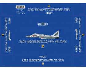 "Great Wall Hobby MiG-29 9-13 ""Fulcrum-C"" Korean's People Army Air Force 1/48 Limited 1000pcs"