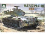 Takom M47/G Patton U.S. medium tank 1/35