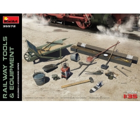 MiniArt RAILWAY TOOLS & EQUIPMENT 1/35