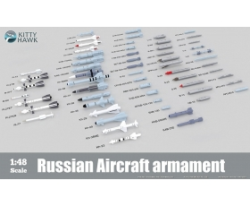 Kitty Hawk Russian Aircraft Armament Set 1/48