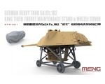MENG King Tiger Turret Maintenance Stand & Muzzl..