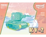 Meng KV-2 WorldWar Toons Cute Tank