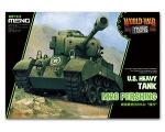 Meng M26 Pershing U.S. Heavy Tank World War Toon..
