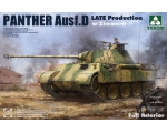 Takom Panther Ausf. D Late Production with Zimme..