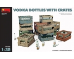 MiniArt Vodka Bottles with Crates 1/35