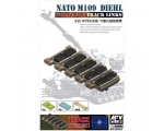 AFV Club NATO M-109 Diehl workable track links 1..
