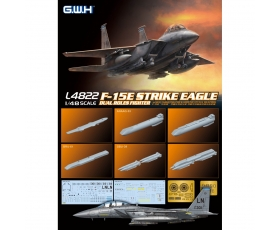 Great Wall Hobby U.S. Air force F-15E Strike Eagle Dual-Roles Fighter 1/48