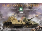 Takom Flakpanzer Panther 2 in 1 1/35