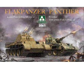 Takom Flakpanzer Panther 2 in 1 1/35 Pre-Order