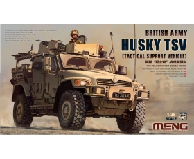 MENG British Army HUSKY TSV Tactical Support Vehicle 1/35 Pre-Order