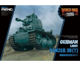 Meng German Light Panzer 38T World War Toons Cute Tank