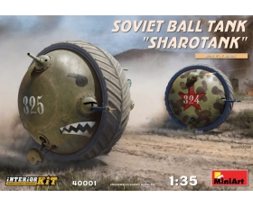 "MiniArt SOVIET BALL TANK ""Sharotank"" INTERIOR KIT 1/35"