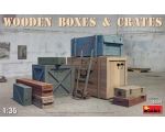 MiniArt WOODEN BOXES & CRATES 1/35
