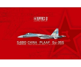 "Great Wall Hobby China PLAAF Su-35S ""Flanker-E"" with bonus resin pilot 1/48"
