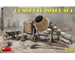 MiniArt CONCRETE MIXER SET 1/35