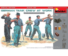 MiniArt GERMAN TANK CREW AT WORK. SPECIAL EDITION 1/35