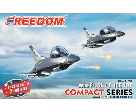 Freedom Model Kits ROCAF F-16 A/B/RF Compact series Cute Plane