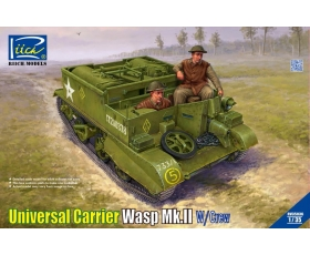 Riich Model Universal carrier Wasp Mk.II w/crew 1/35