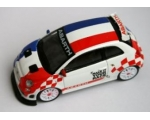 Burago Fiat 500 Abarth 2013 Make it your Race Fr..