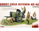 MiniArt Soviet Field Kitchen KP-42 1/35