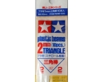 Tamiya PLASTIC BEAMS 2mm TRIANGLE