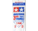 Tamiya PLASTIC BEAMS 3mm TRIANGLE