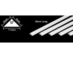 Tamiya PLASTIC BEAMS 5mm TRIANGLE