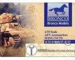 Bronco Butterfly Wing Nuts German Version 1/35