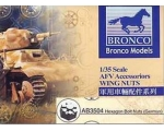 Bronco Hexagon Bolt Nuts German Version 1/35