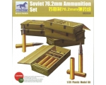 Bronco Soviet 76.2mm Ammunition Set 1/35
