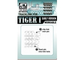 AFV Club Tiger I - Early Version / Einzelglieder..