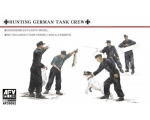 AFV Club Hunting German Tank Crew-5 Figures with..