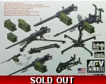 AFV Club U.S. M2HB .50 CAL Machine Gun Set W/M3 ..