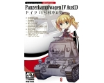 AFV Club World of Q Tank Series Panzerkampfwagen..