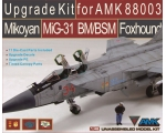 AMK UPGRADE KIT FOR AMK88003 MIKOYAN MIG-31 BM/B..