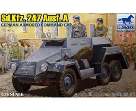 Bronco Sd.Kfz.247 Ausf.A German Armoured Command Car 1/35